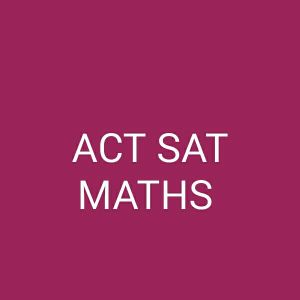 SAT ACT maths available