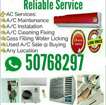 Ac sell service and buy damged Ac