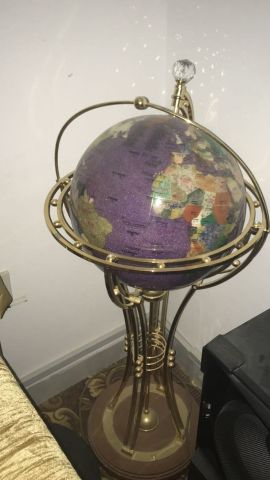 Crystal shoped globe Lights