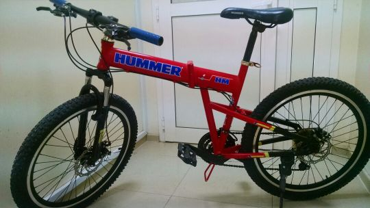 Hummer Bicycle Flodable
