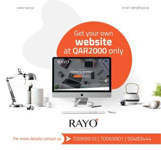Get your own Website with low price.
