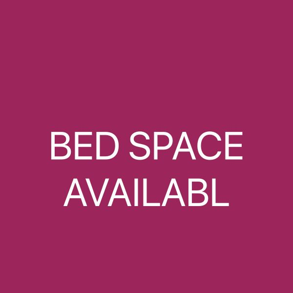 BED SPACE AVAILABL