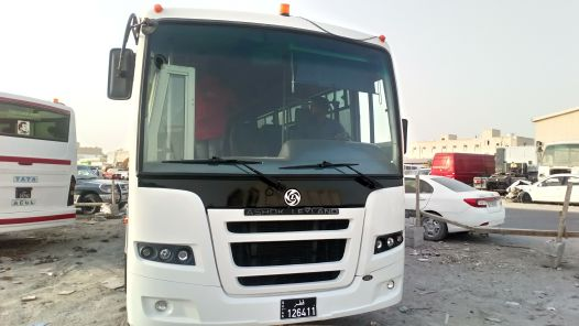 66 seater bus available for rent