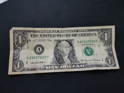 old american note