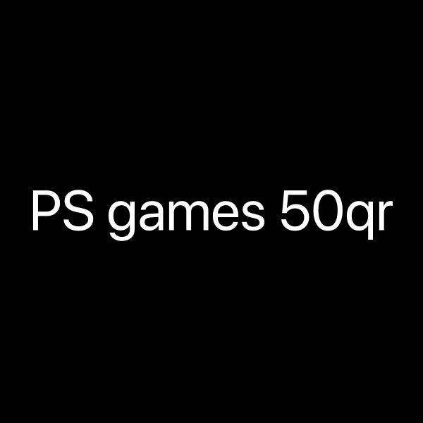 ps4 games needed