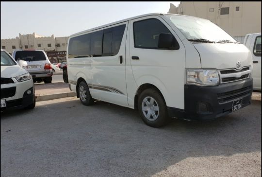 Toyota Hays Bus For Rent With Driver