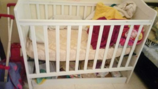 bed for baby like new