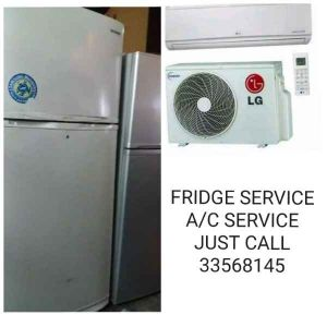 Fridge  Aircondition Repairing