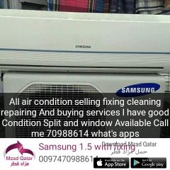 All air condition selling fixing cleanin