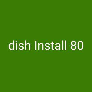 we Install dish and LED TV