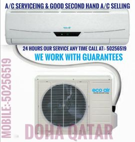 A/C servicing & second hand AC selling