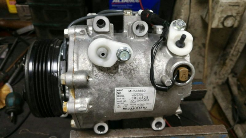 car A/c compressor from Japan