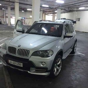 BMW X5 swapping