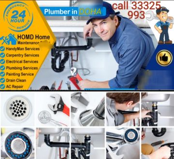 plumbing and electrical work