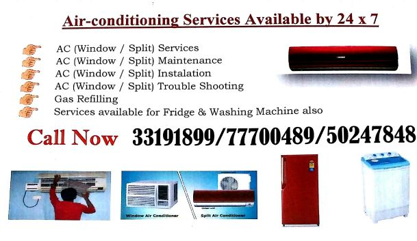 Air conditioning Servives
