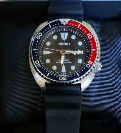 brand new seiko tortle automatic