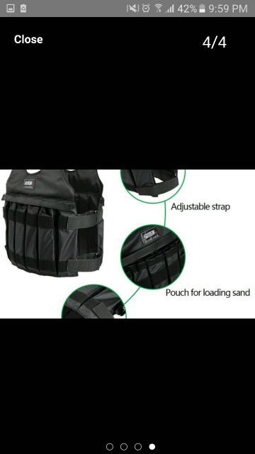 weighted vest for workout and weightloss