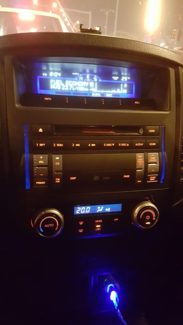 Radio and cd player