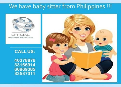 Baby sitter from Philippines