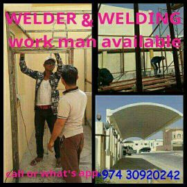 welder work man available any location i