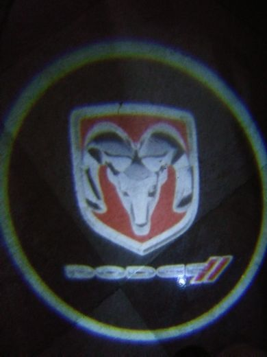 DODGE color logo for car door