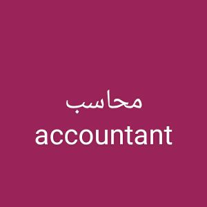 accountant with experience and knowledge
