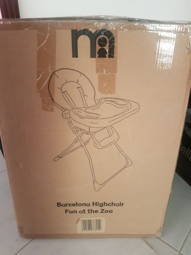 brand new Mothercare high chair
