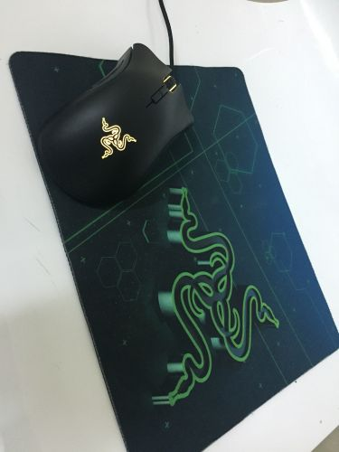 Mouse and mousepad