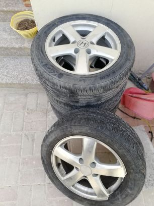 rings with tyre