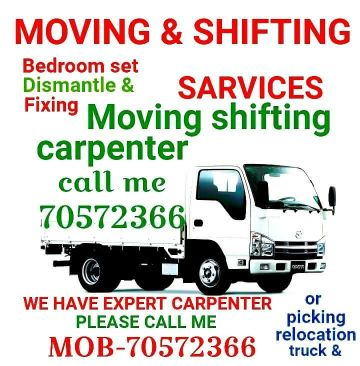 Moving Shifting Carpenter Service Call