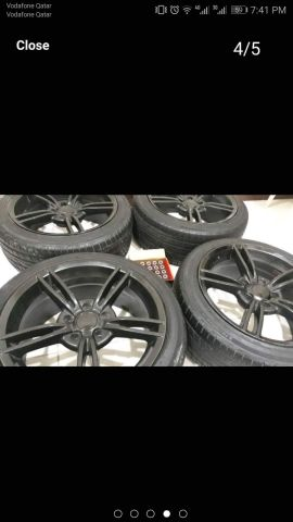 17inch 5Bolt Alloy wheels with New Tyre