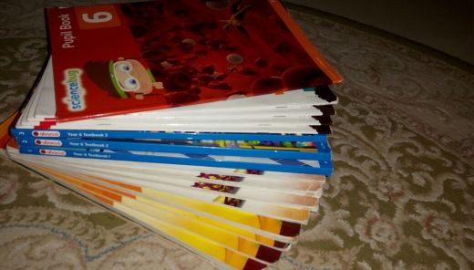 year 6 ( Doha academy ) school books
