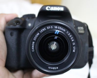 Canon DSLR 700D With All Accessories