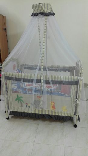 Bed+walking trolley+car chair for child