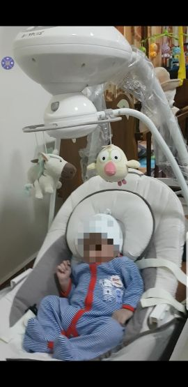 Baby swing chair electronic