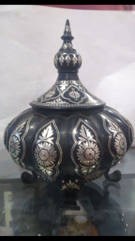 Bidri Art Silver Box