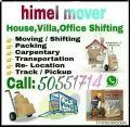 shifting moving services