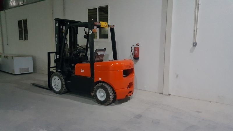 wecan forklift 2015 low hours