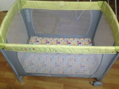 baby cot bed  with free todler cot