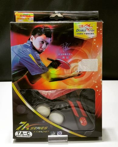 Double Fish Table Tennis Racket 7AC