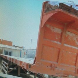 Flat bed trailer in very good condition