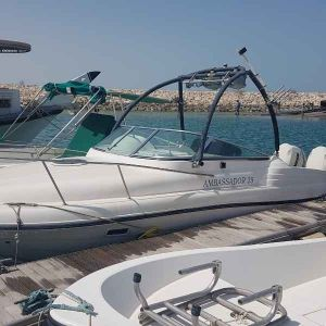 25ft gulfcraft ambassador for sale