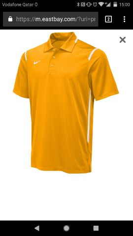 NIKKE TEAM GAMEDAY POLO Medium Size