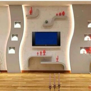 interior decoration and partition