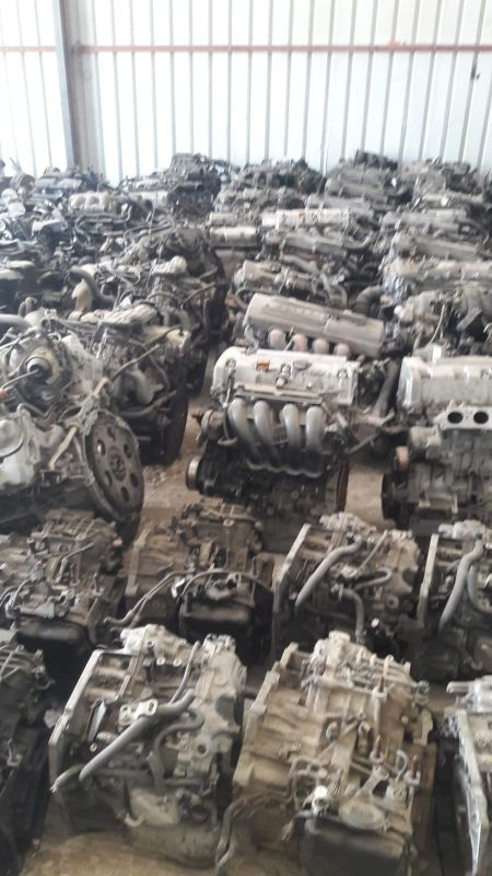used spare part engine + gearbox