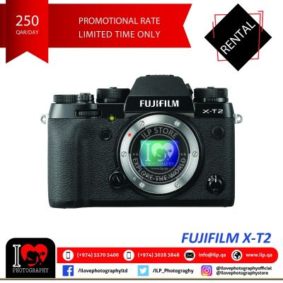 Fujifilm X-T2 available for rental!
