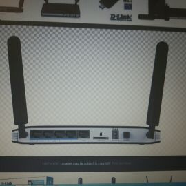 D-Link 4g router as new LTE
