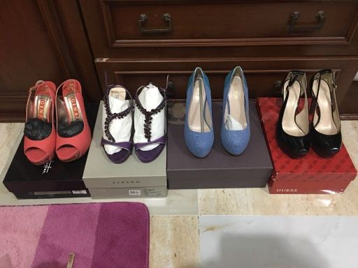 collection of shoes inter brands