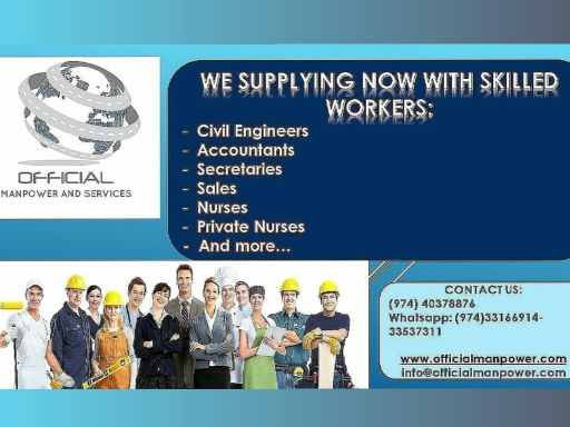 Need Skilled and Semi skilled workers