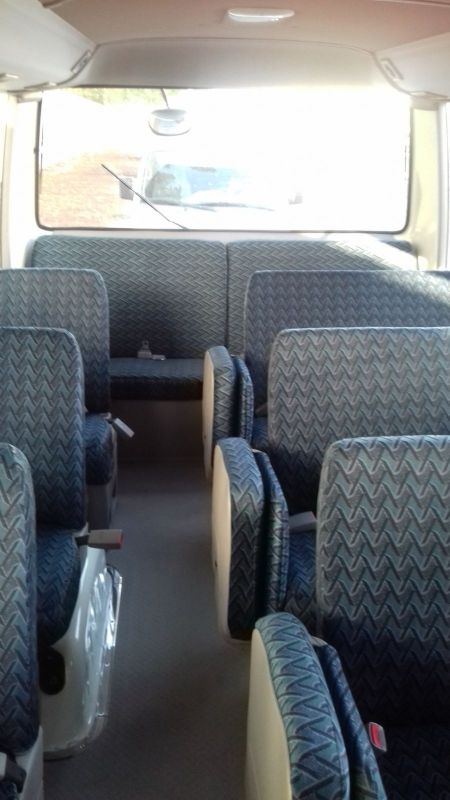 66/30 /15seater bus available for rent